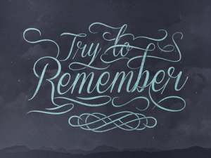 try_to_remember
